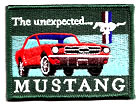Aufnäher Ford Mustang