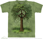 T - Shirt Peace Tree