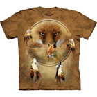 T-Shirt Dreamcatcher Fox