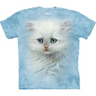T-Shirt Fluffy White Kitten