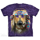 T-Shirt Peace Dog